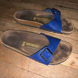 Birkenstock Patent Madrid Sandal